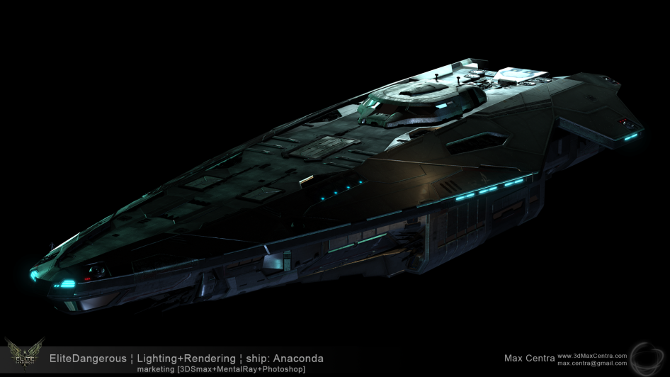 MaxCentra_2014_EliteDangerous_Anaconda_MentalRay_1920x1080