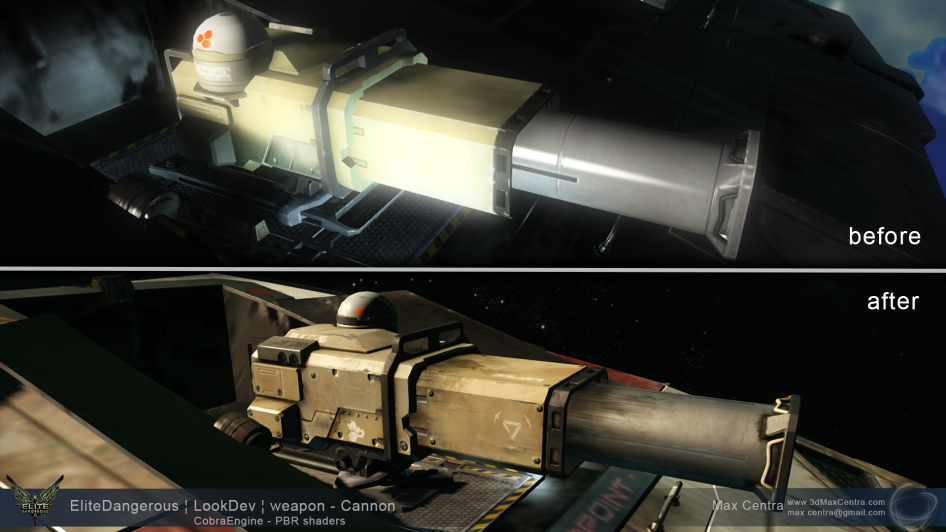 MaxCentra_2014_EliteDangerous_weapon_Cannon_beforeVSafter_1920x1080